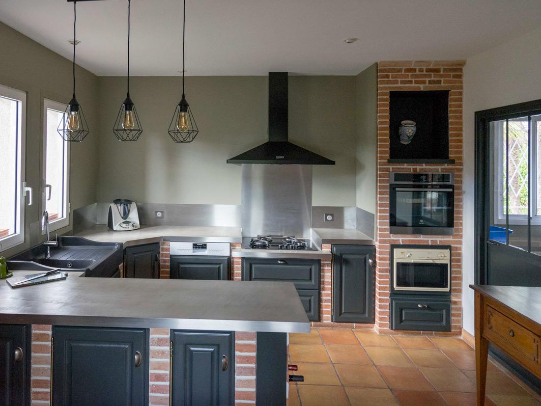 Cuisine - Etude de cas d'une maison des années 90