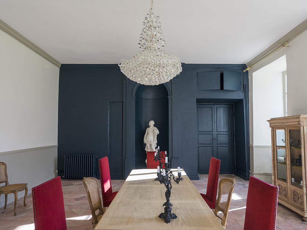 Moderniser Une Salle A Manger moderniser un château de style directoire - anne-marie